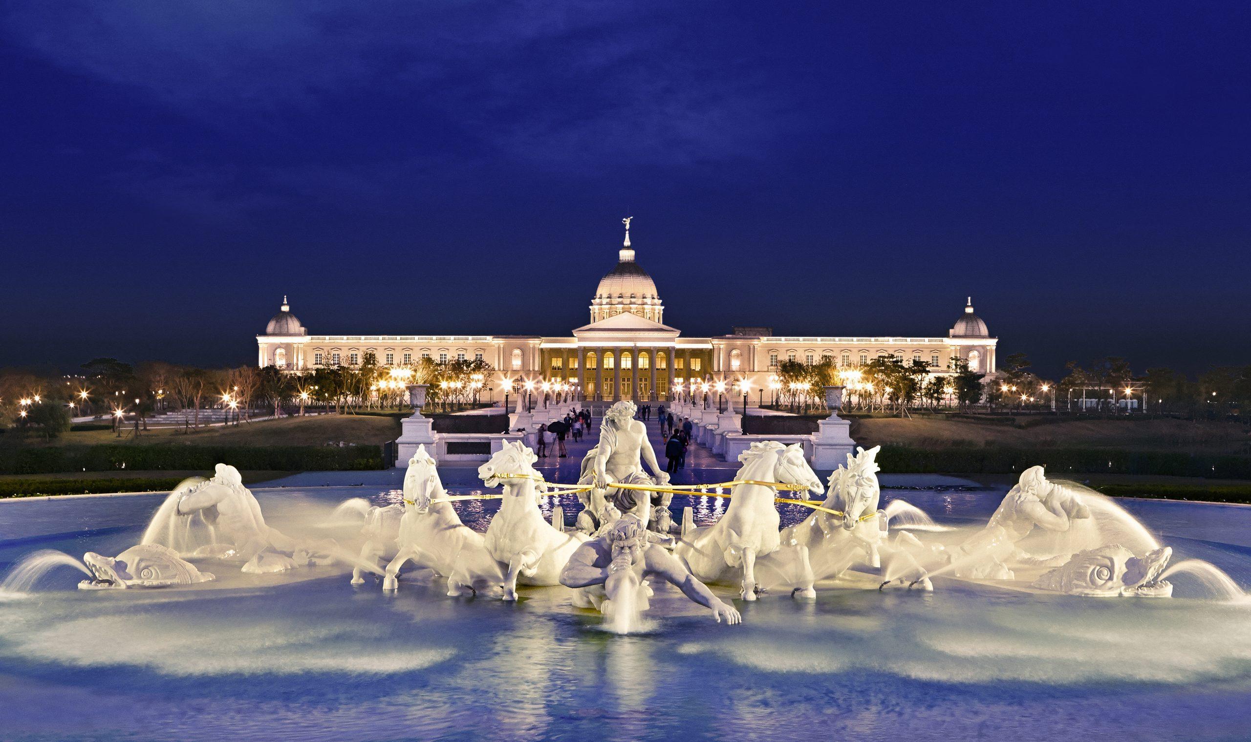 奇美博物館2020 阿波羅噴泉