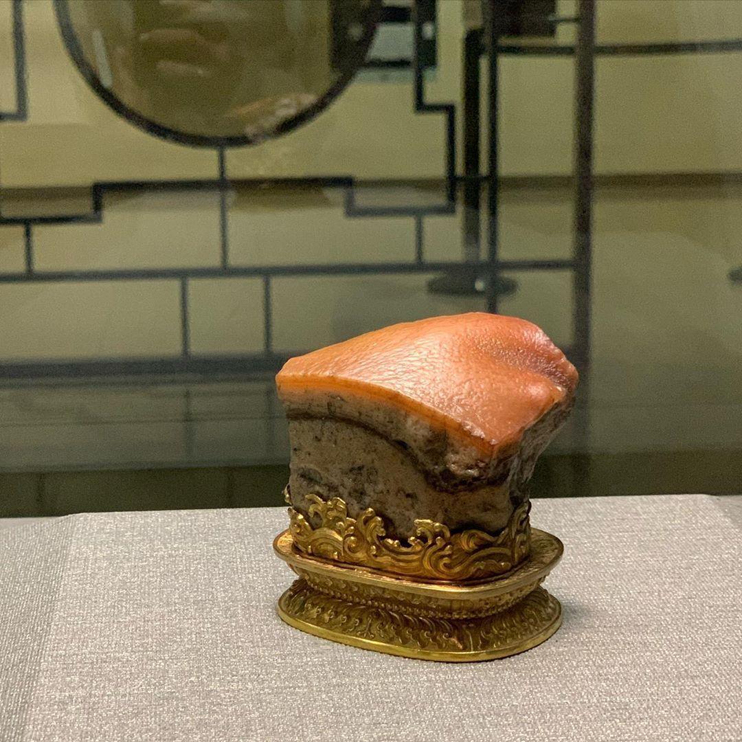博物館推薦 故宮 肉形石