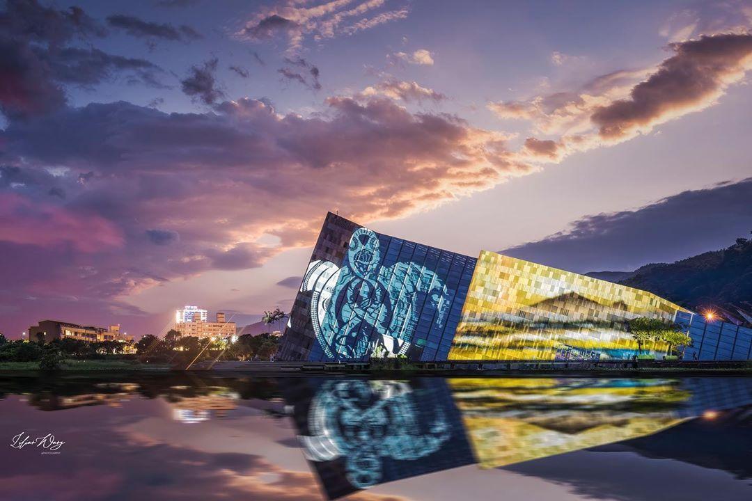 2020噶瑪蘭公主文創光雕展